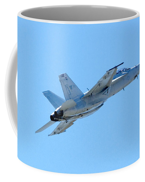 F18 Coffee Mug featuring the photograph F18 by Greg Fortier