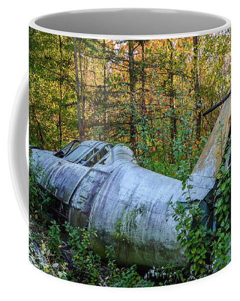 Coffee Mug featuring the photograph F84 by Jim Figgins