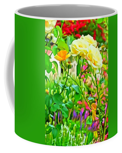 Flowers Coffee Mug featuring the photograph Fabulous Florals 333 by Greg Hammond