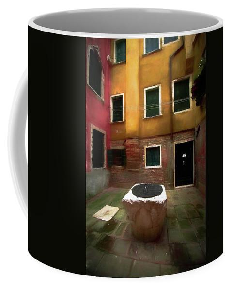Michael Setiabudi Coffee Mug featuring the photograph Facade Of Venice V1 by Michelle Saraswati
