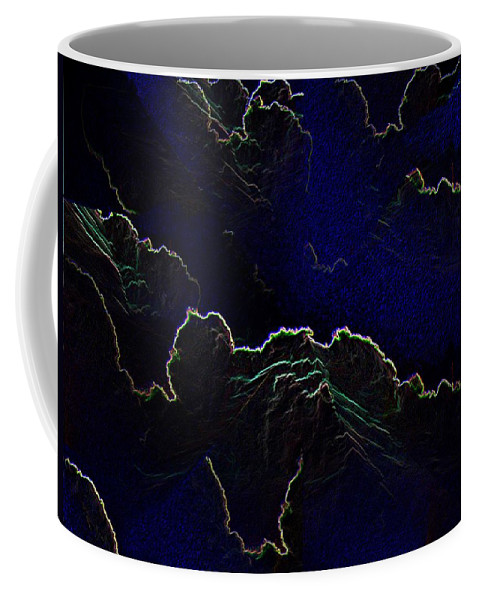 Clouds Coffee Mug featuring the photograph Face Cloud by Tim Allen