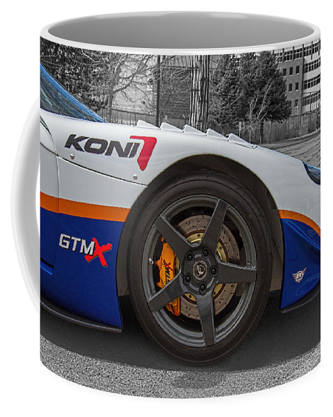 Factory Coffee Mug featuring the photograph Factory Five Racing Car by Nick Gray