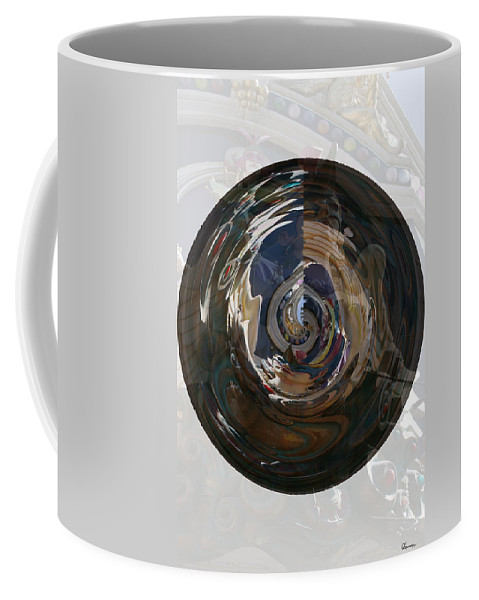 Women Lady Girl World Space Portal Relm Escape Abstract Coffee Mug featuring the photograph Faded Lady by Andrea Lawrence