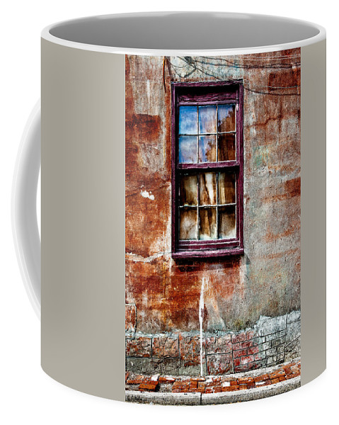 Window Coffee Mug featuring the photograph Faded Over Time 2 by Christopher Holmes