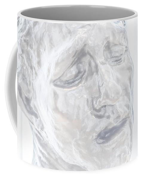 Scultpure Coffee Mug featuring the photograph Faded Sculpture by Miranda Strapason