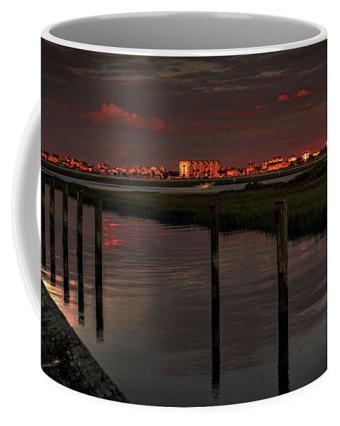 Sun Coffee Mug featuring the photograph Fading Sunlight by Aaron Shortt