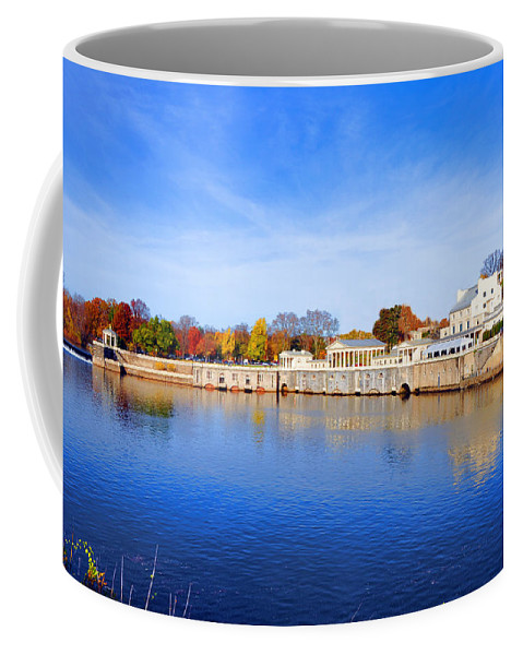 Fairmount Coffee Mug featuring the photograph Fairmount Water Works - Philadelphia by Bill Cannon