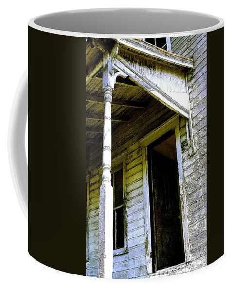 Porch Coffee Mug featuring the photograph Fairview Ohio - Number 1 by Nelson Strong