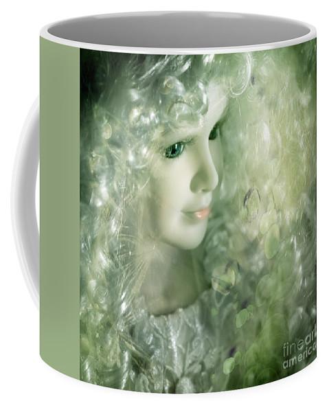 Toy Coffee Mug featuring the photograph Fairy by Angel Ciesniarska