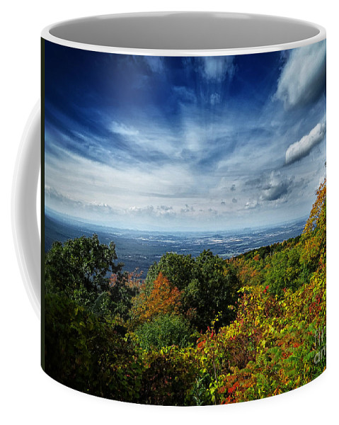 Nature Coffee Mug featuring the photograph Fall Blue Ridge Parkway by Dawn Gari