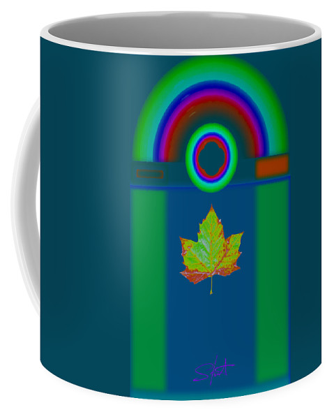 Classical Coffee Mug featuring the painting Fall by Charles Stuart