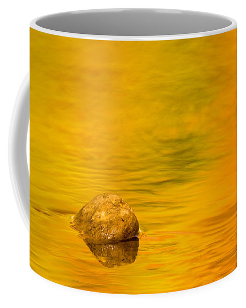 3scape Photos Coffee Mug featuring the photograph Fall Color Abstract by Adam Romanowicz