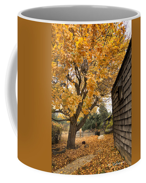 Autumn Colors Coffee Mug featuring the photograph Fall Colors by Herman Robert