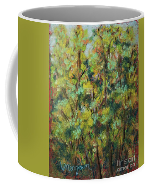 Fall Coffee Mug featuring the painting Fall Colors by Laurie Morgan