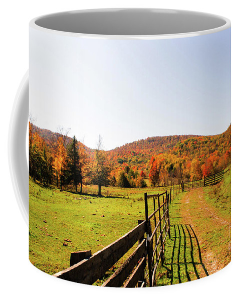 Fall Coffee Mug featuring the photograph Fall Farm #4 by Kevin Gladwell
