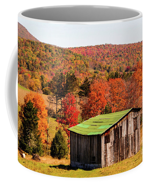 Fall Coffee Mug featuring the photograph Fall Farm No. 6 by Kevin Gladwell