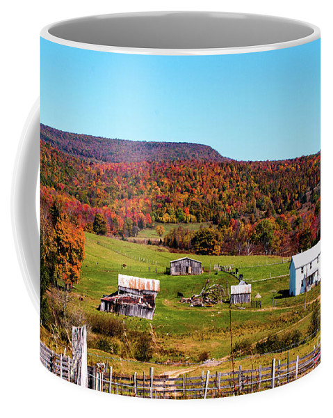 West Virginia Coffee Mug featuring the photograph Fall Farm No. 7 by Kevin Gladwell