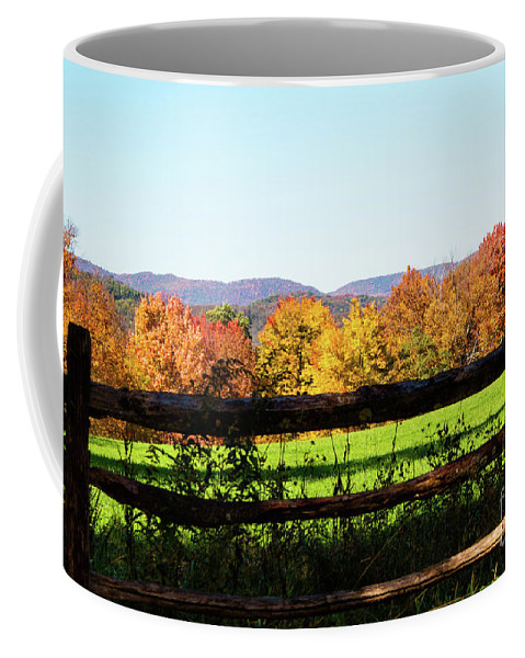 Fall Coffee Mug featuring the photograph Fall Farm No. 8 by Kevin Gladwell