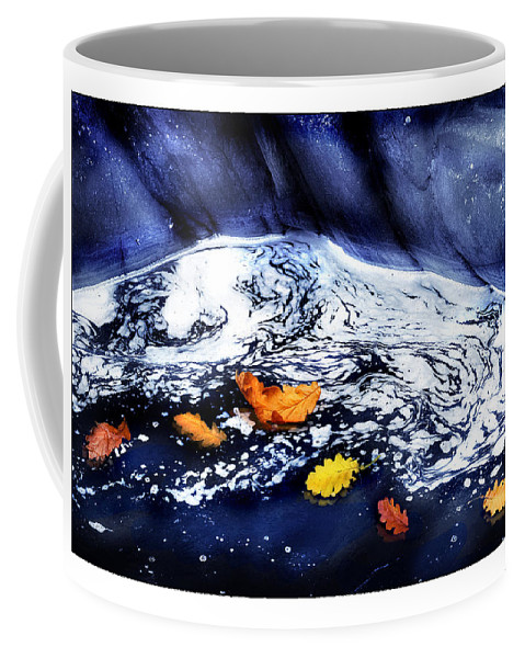 Fall Coffee Mug featuring the photograph Fall Flotilla by Mal Bray