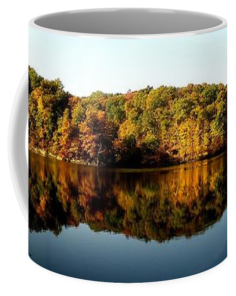 Fall Coffee Mug featuring the photograph Fall In Indiana by Carol Milisen