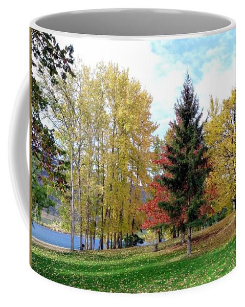 Kaloya Park Coffee Mug featuring the photograph Fall In Kaloya Park 1 by Will Borden