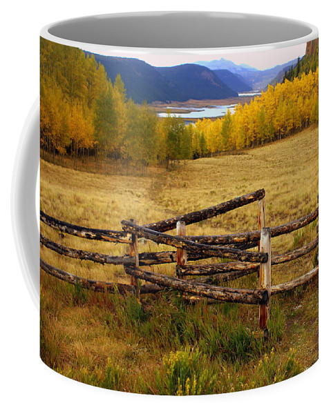 Fall Colors Coffee Mug featuring the photograph Fall In The Rockies 2 by Marty Koch