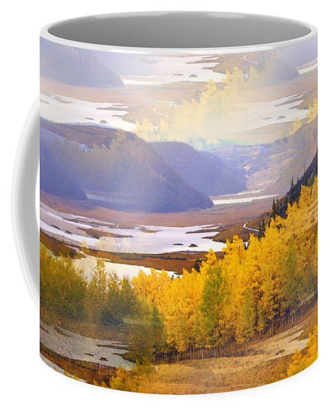 Fall Coffee Mug featuring the photograph Fall In The Rockies by Marty Koch