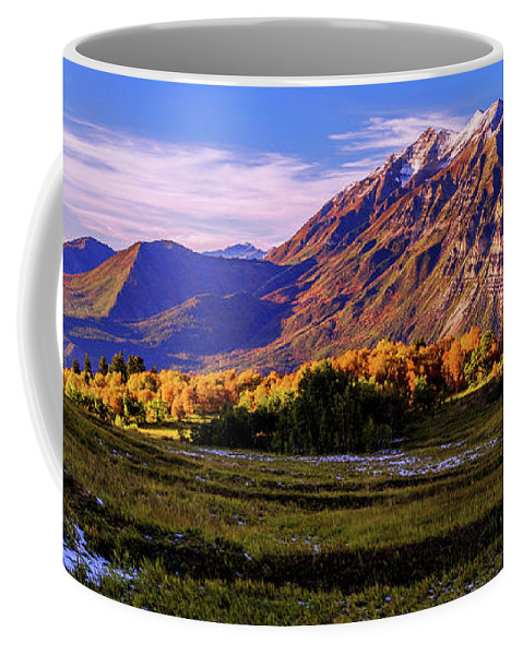 Fall Meadow Coffee Mug featuring the photograph Fall Meadow by Chad Dutson