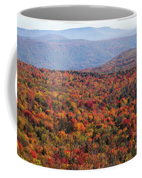 Scenic Highway Coffee Mug featuring the photograph Fall Mountains #3 by Kevin Gladwell