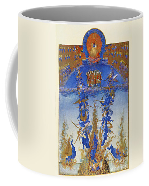 15th Century Coffee Mug featuring the photograph Fall Of Rebel Angels by Granger