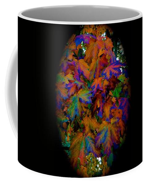 Nature Coffee Mug featuring the photograph Fall Painting By Mother Nature by Tim G Ross