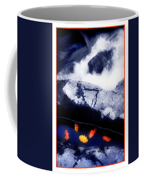 Water Coffee Mug featuring the photograph Fall Quintet by Mal Bray