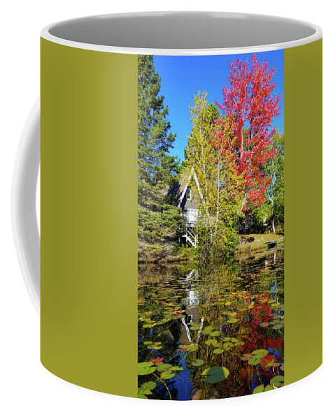 Fall Coffee Mug featuring the photograph Fall Reflections by Brook Burling