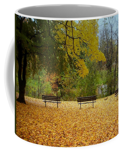 Fall Coffee Mug featuring the photograph Fall Series 13 by Anita Burgermeister