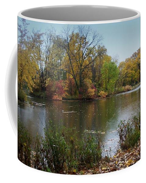 Fall Coffee Mug featuring the photograph Fall Series 8 by Anita Burgermeister