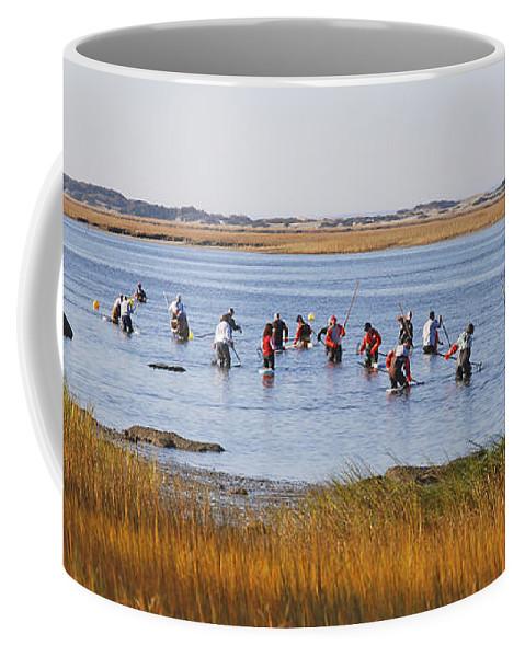 Barnstable Coffee Mug featuring the photograph Fall Shellfishing by Charles Harden