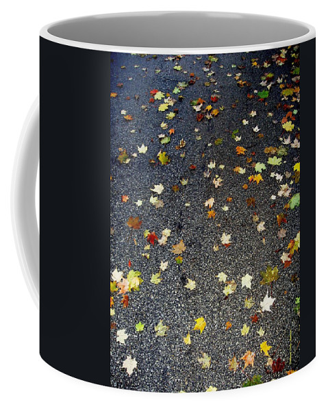 Leaves Coffee Mug featuring the photograph Fall Sparkle by Deborah Crew-Johnson