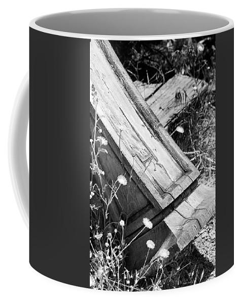 Pillar Coffee Mug featuring the photograph Fallen Pillar by Phyllis Denton
