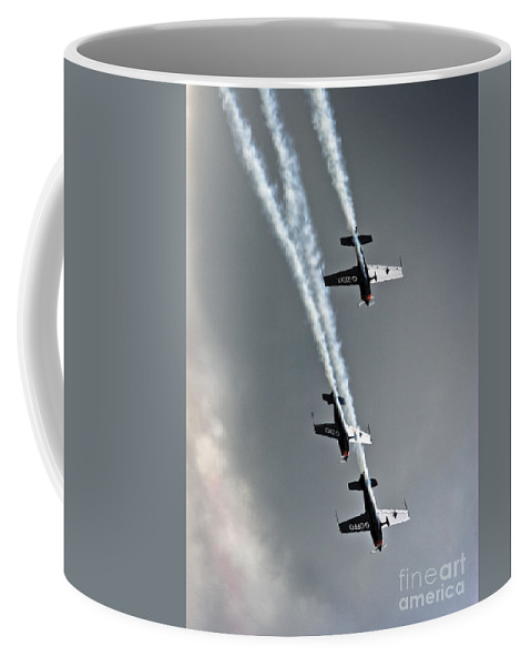 Bladesm Coffee Mug featuring the photograph Falling Down by Angel Tarantella