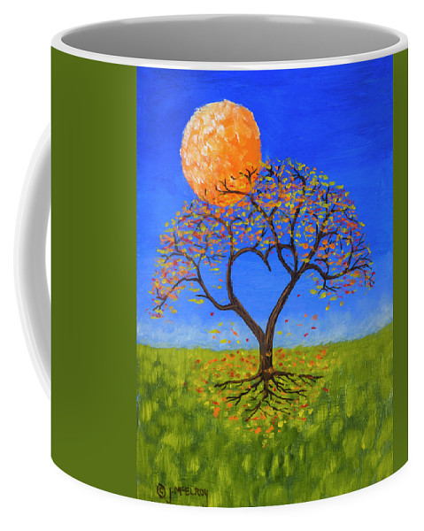 Love Coffee Mug featuring the painting Falling For You by Jerry McElroy