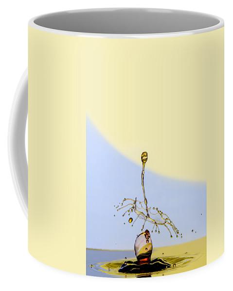 Macro Coffee Mug featuring the photograph Falling by Robert Storost