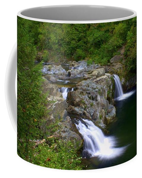 Waterfall Coffee Mug featuring the photograph Falls Falls by Marty Koch