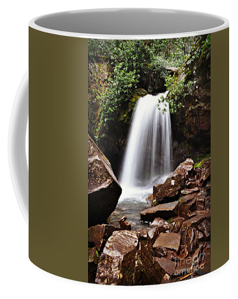 Tennessee Coffee Mug featuring the photograph Falls of Tennessee by Eric Liller