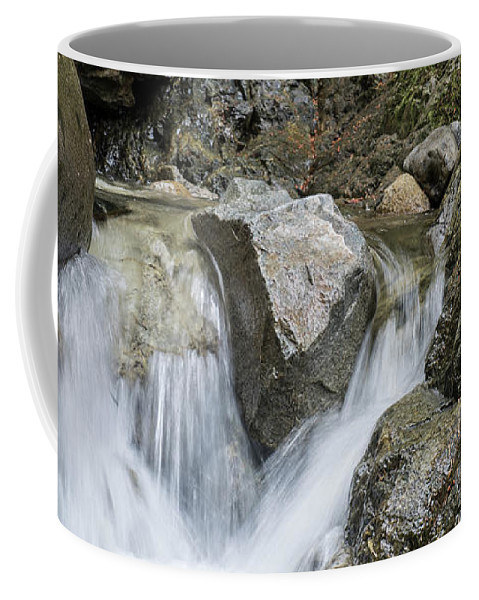 Waterfalls Coffee Mug featuring the photograph Falls by Rod Wiens