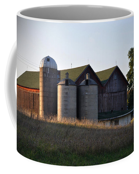 Fall Coffee Mug featuring the photograph Family by Tim Nyberg