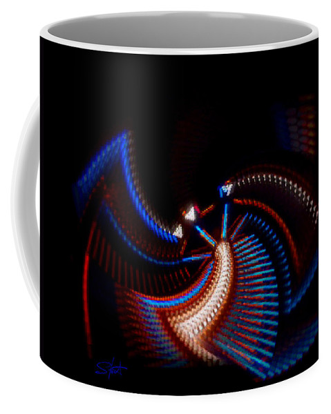Chaos Coffee Mug featuring the photograph Fan Dance by Charles Stuart