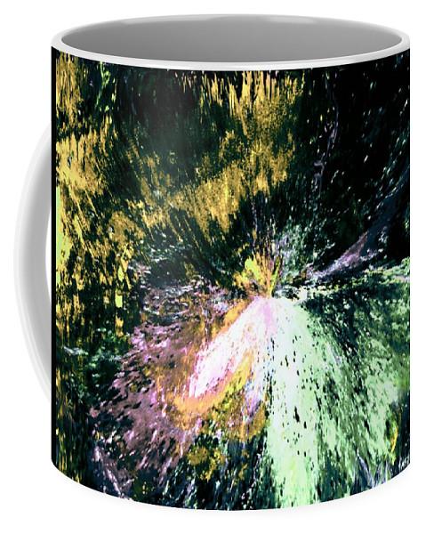 Digital Art Coffee Mug featuring the digital art Fanfare by Kendall Eutemey