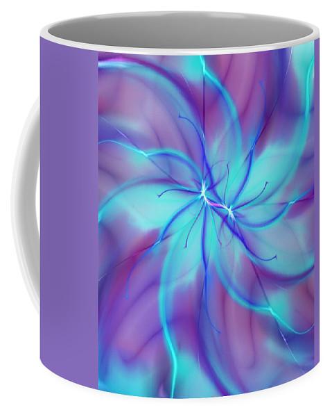 Fantasy Coffee Mug featuring the digital art Fantasy 101 by David Lane