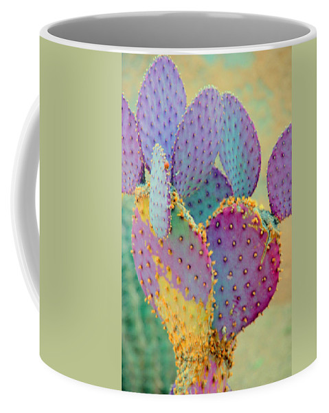 Cactus Coffee Mug featuring the photograph Fantasy Cactus by Susanne Van Hulst