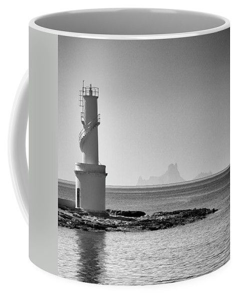 Balearics Coffee Mug featuring the photograph Far De La Savina Lighthouse, Formentera by John Edwards
